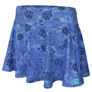 Flare Skirt - Feeling Blue Floral