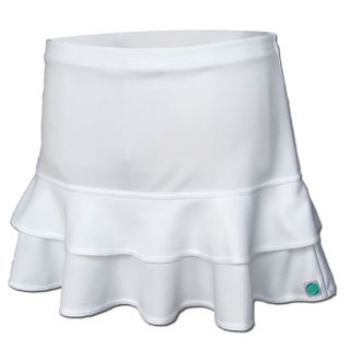Frill Skirt - White (Long)