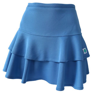 Frill Skirt - Blue (Long)