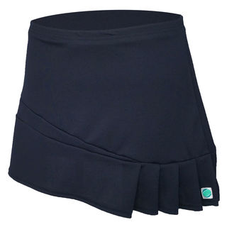 Side Pleat Skirt - Navy