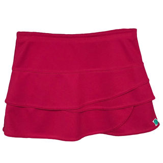 Layered Skirt - Fuchsia