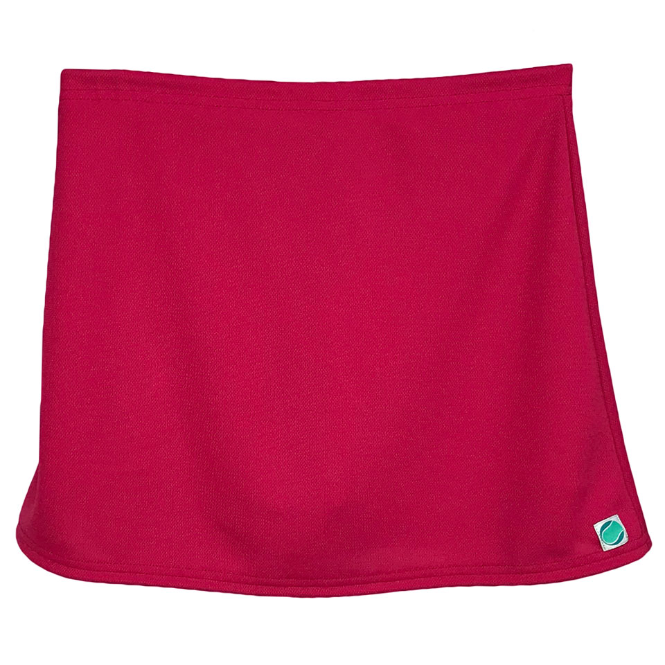 A-Line Straight Skirt - Fuchsia